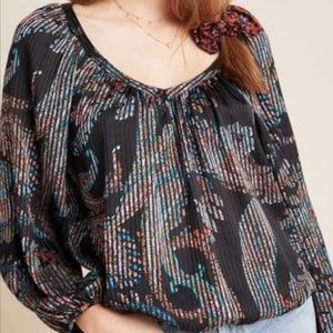 BNWT Maeve by Anthropologie Blouse